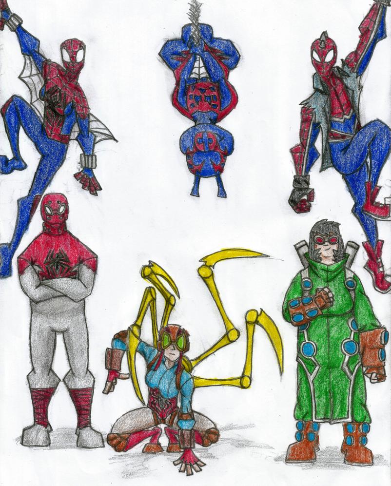 Web-Warriors 2 by Newworlds117