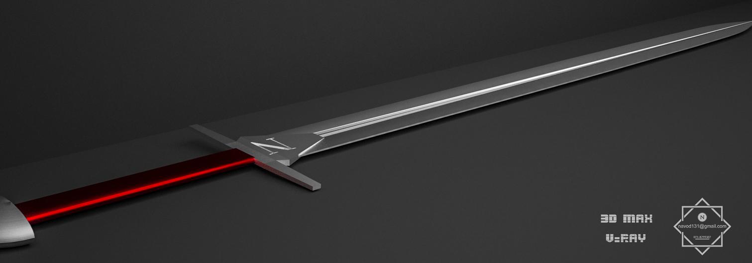 sword 3d . . by Navoda