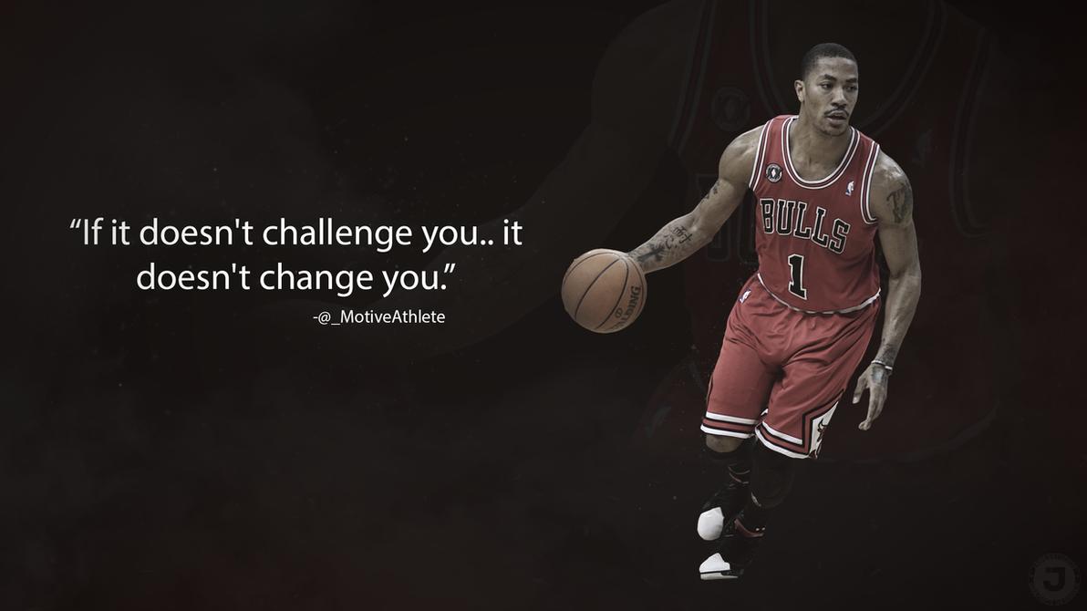 Derrick Rose Motivational Wallpaper By JamesSStudios