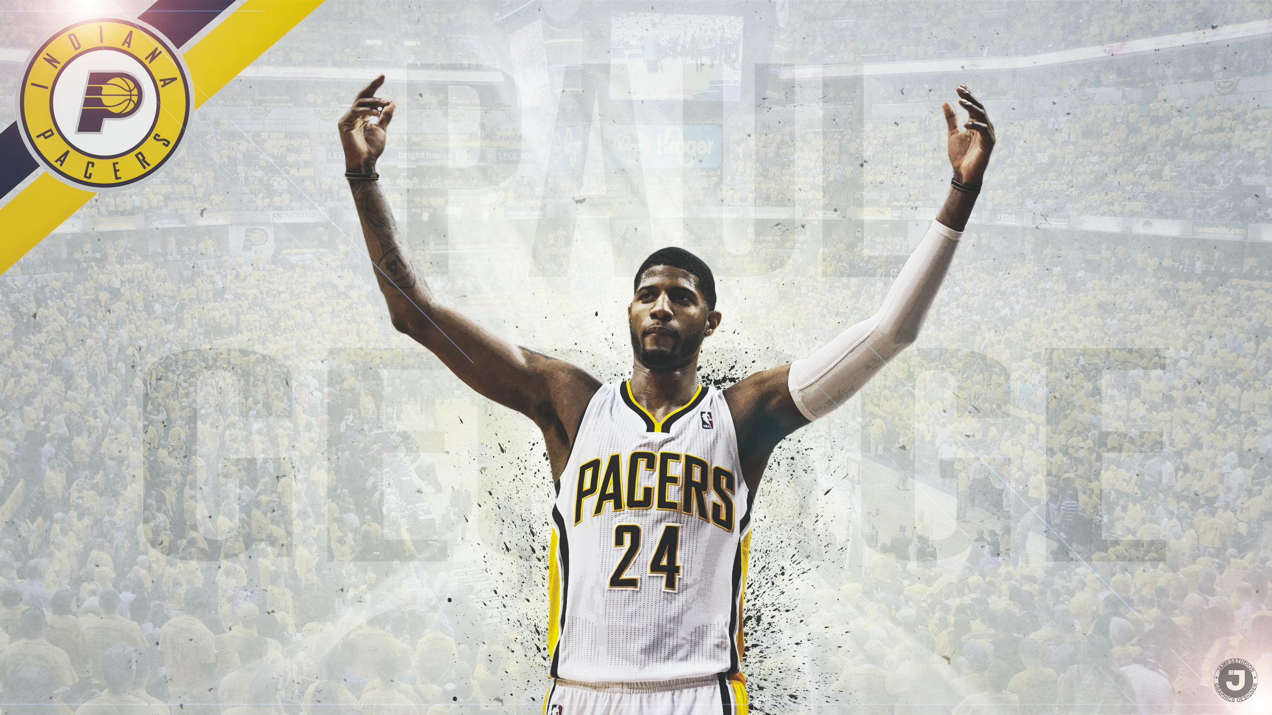 Paul George '-Fear'- by MercvryGfx on DeviantArt