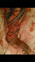 my Japanese geisha Tattoo