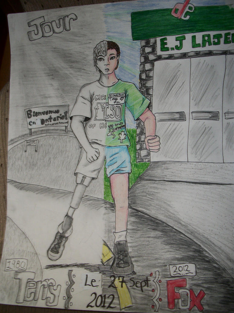 Terry Fox Poster by anonymous97Terry Fox Poster