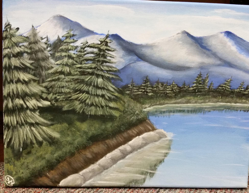 West coast landscape painting by anonymous97