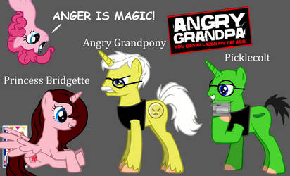 Angry Grandpony: Anger is Magic!