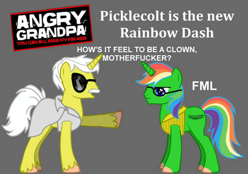 Picklecolt is the new Rainbow Dash