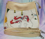 Handbag made with G1 My Little Pony Fabric by SockJems