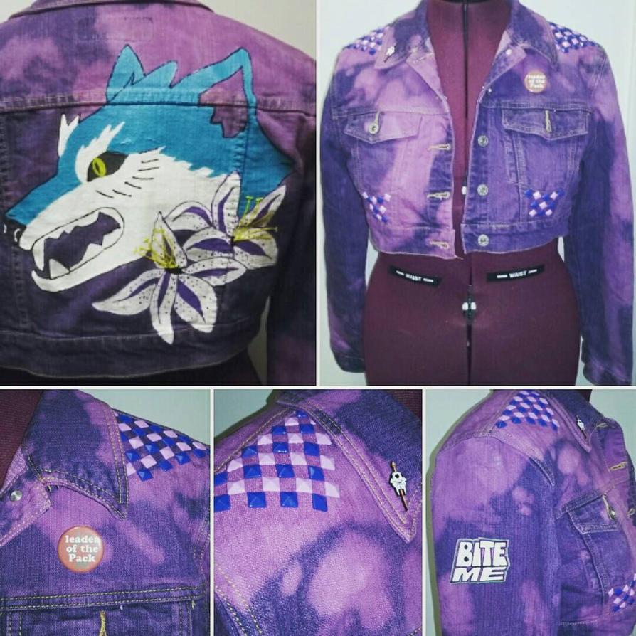 Wold among Lilies Punk Jacket  by Sew-it-all