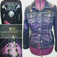 Taking It To My Grave punk jacket