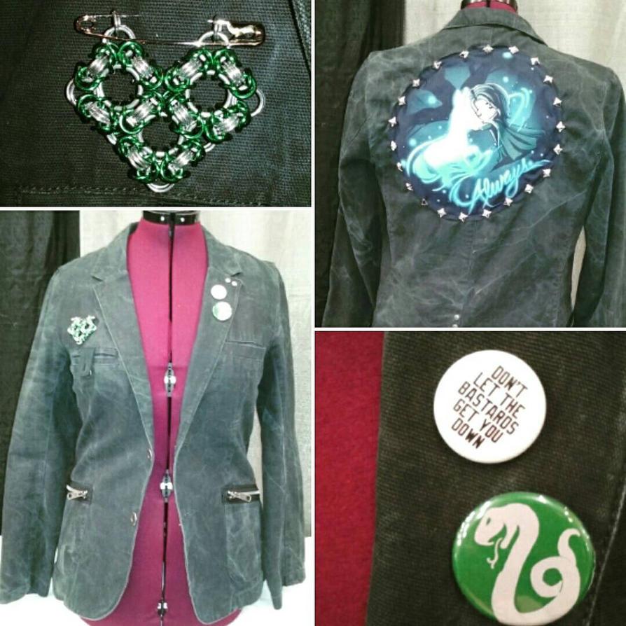 Professor Snape Punk Blazer by Sew-it-all