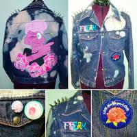 Lars of the Stars Punk Jacket