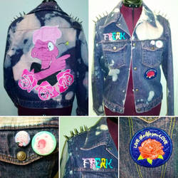Lars of the Stars Punk Jacket  by Sew-it-all