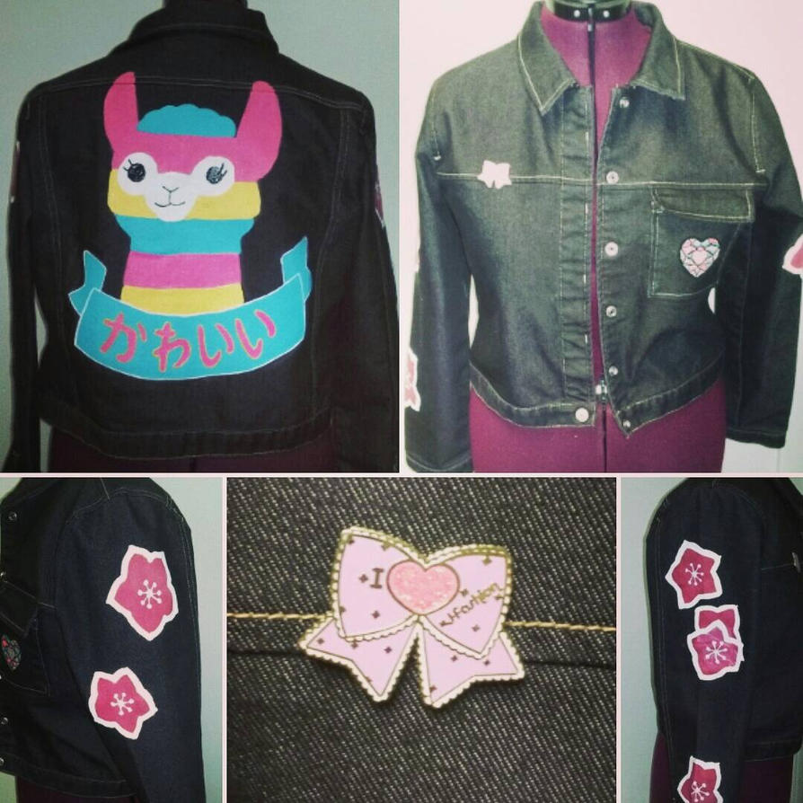 Kawaii Aplaca Jacket  by Sew-it-all