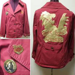Gryffindor Chivalry Brave of Heart by Sew-it-all