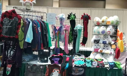 Display At Anime St.Louis  by Sew-it-all