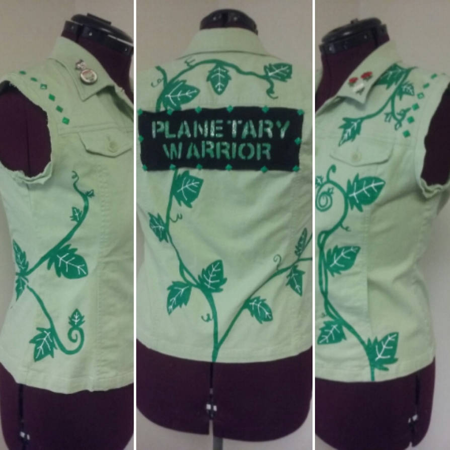 Planetary warrior by Sew-it-all