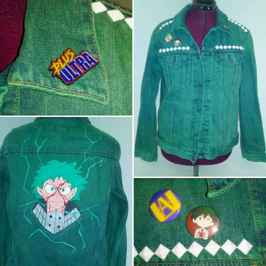 Deku! Punk Jacket by Sew-it-all
