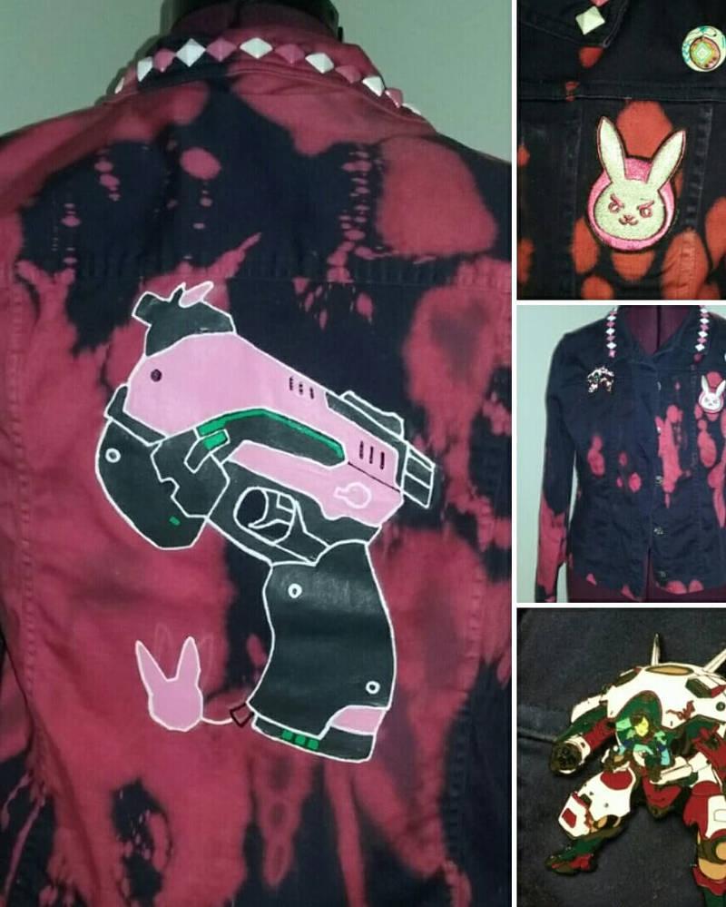 D.va Punk Jacket by Sew-it-all