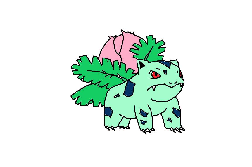 002 Ivysaur by Pandas-FTW