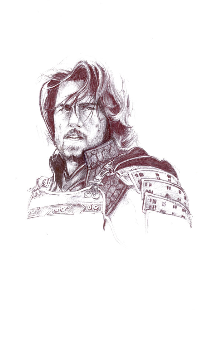 The last Samurai by TheDeviantSketcher