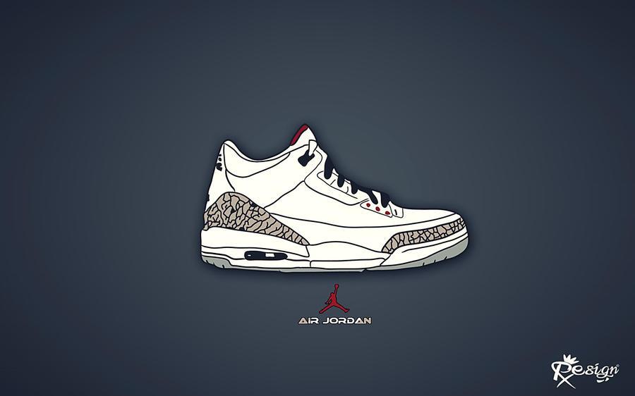 Air Jordan Retro 3 by Rx--design ...