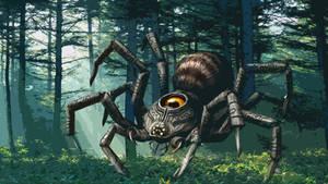 Twilit Arachnid: Armogohma HD Boss Wallpaper