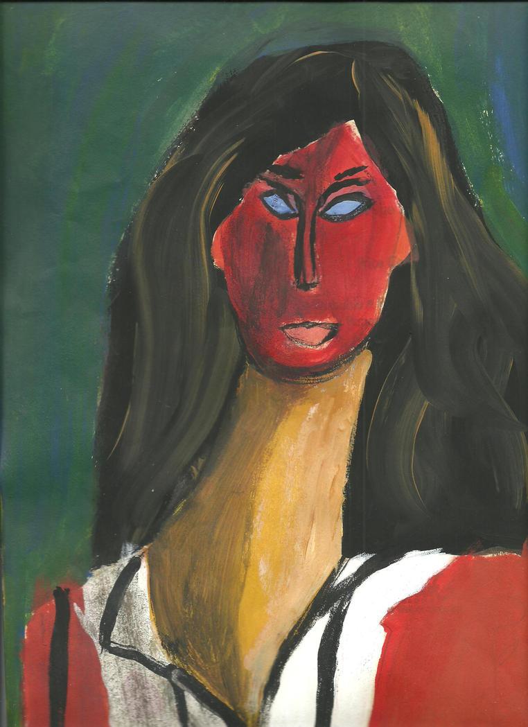 Woman by Zelphyr117