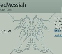 666 HITS by BadMessiah