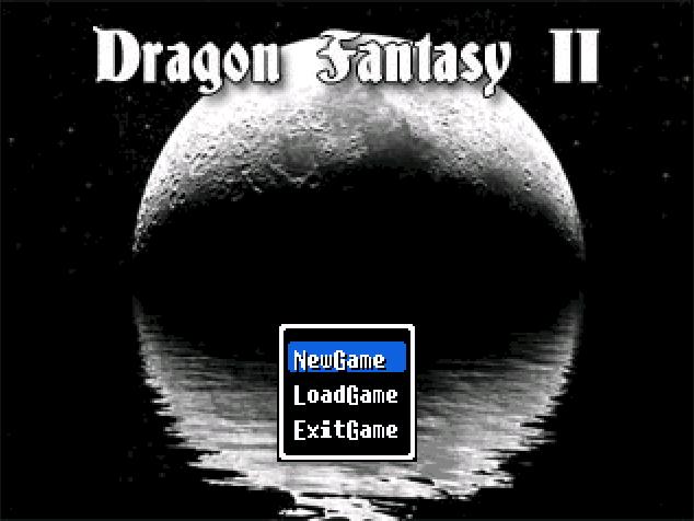 Dragon Fantasy II Title. by Zeromatrious