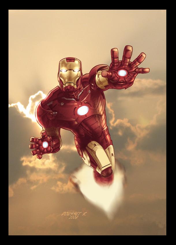 iron man by guy bigbelly on deviantart