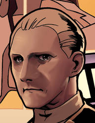Odo, close up on head