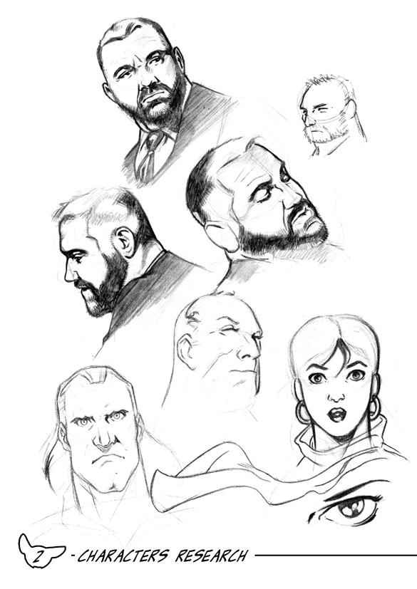 Sketchbook Page by Guy-Bigbelly