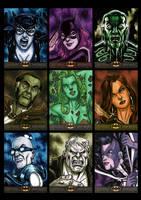 Batman The Legend Sketchcards 01 by Guy-Bigbelly