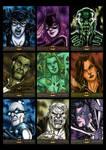 Batman The Legend Sketchcards 01