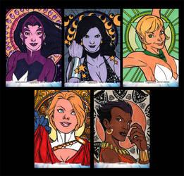 Women of Legend Sketchcards Artist Proof