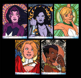 Women of Legend Sketchcards Artist Proof by Guy-Bigbelly