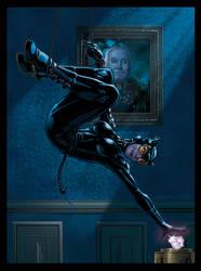Catwoman, Women of Legend Base Card