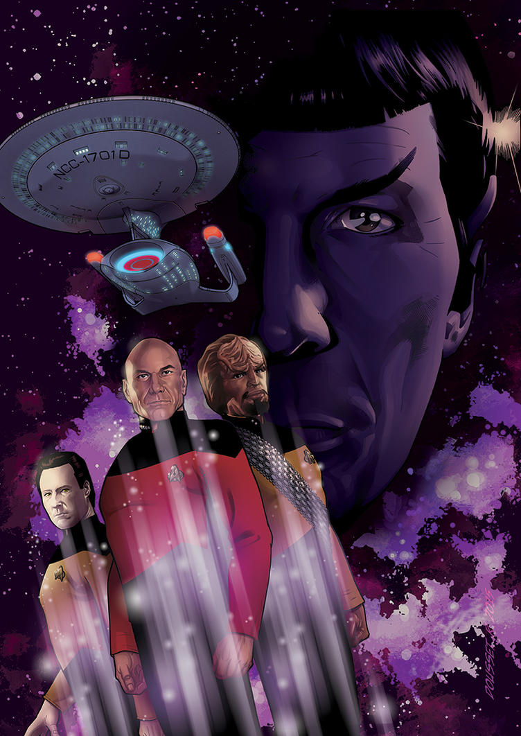Star Trek TNG Cover by Guy-Bigbelly