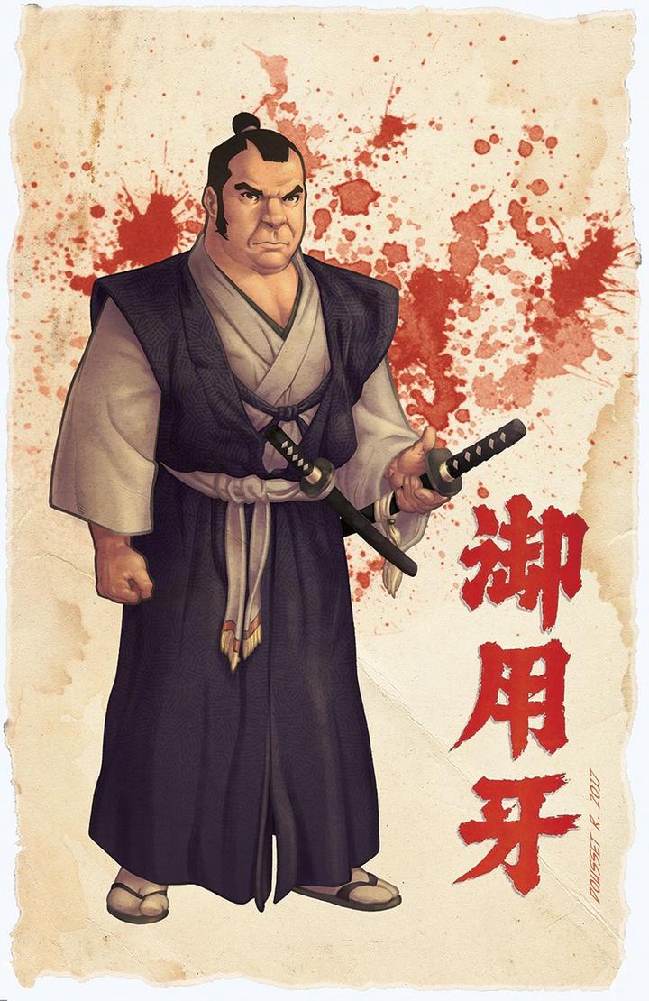 Hanzo the Razor by Guy-Bigbelly