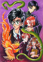 The chamber of secrets by ConnyChiwa