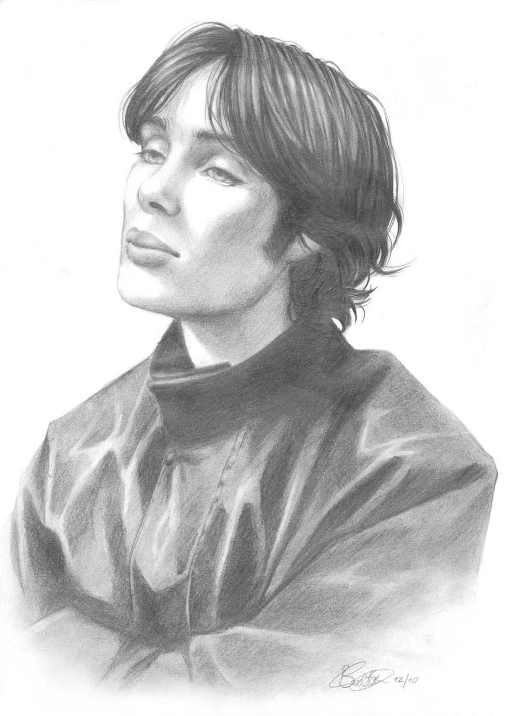 Cillian Murphy Portrait III by ConnyChiwa