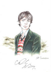 My drawing signed by Cillian Murphy by ConnyChiwa