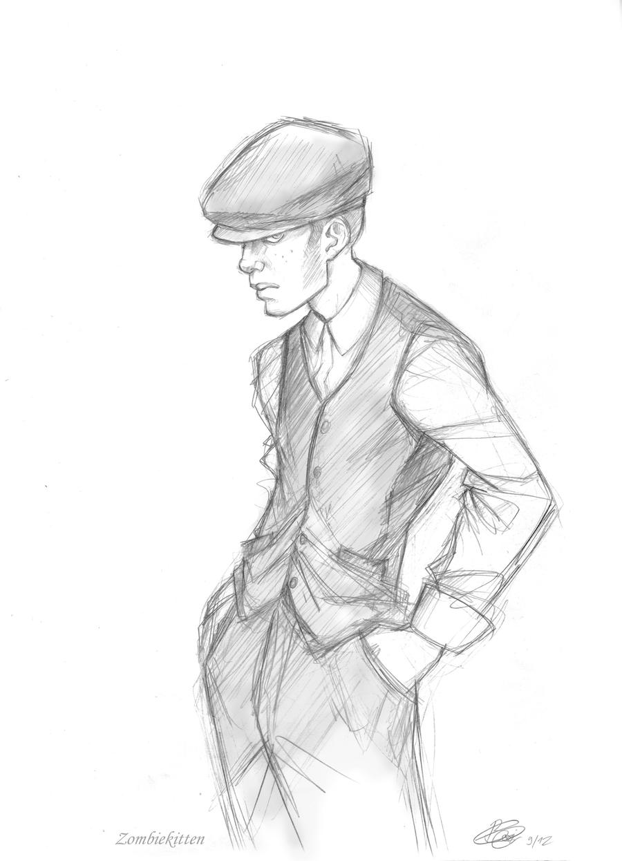 Peaky Blinders: Cillian Murphy as a gangster by ConnyChiwa