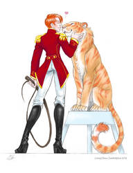 Lion Tamer Hux and Millicent [Circus AU 1/2]