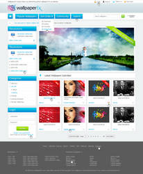 WallpaperFX Design for Homepage