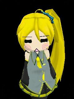 Neru Akicha's straight face by KatsukiYarakine
