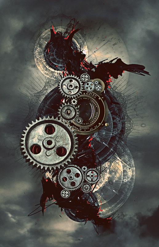 Daily Design Inspiration #9: Steampunk Art   Art Nectar