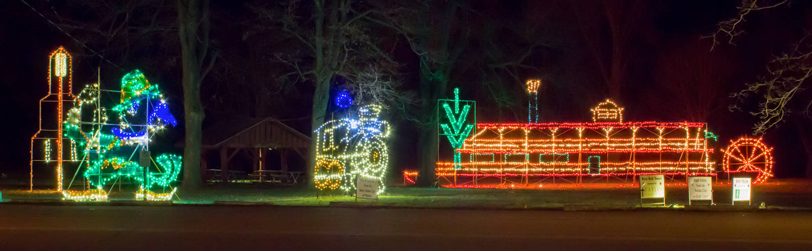 Christmas Lights Marion Indiana By Devonjones