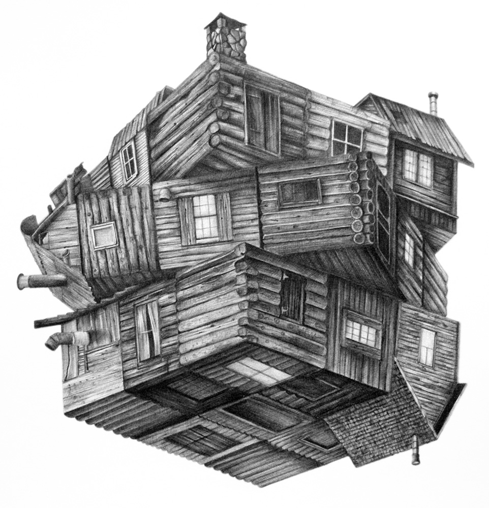 cabin in the woods by gh0st 0f me on deviantart