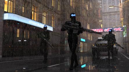 Rain by KindredArts