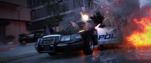 Street Shootout (3440x1440)